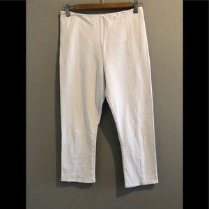 LYSSE WHITE LEGGINGS (M)